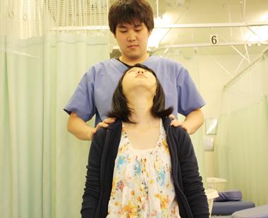 寝違え・首痛 施術の流れ