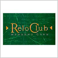 RELO CLUB会員カード